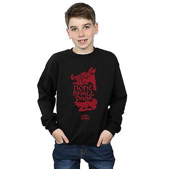 Monty Python Jungs keiner vorübergehen Sweatshirt