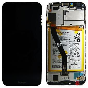 Huawei visar LCD enhet + Service Pack 02351WDU svart ram för ära 7A nya
