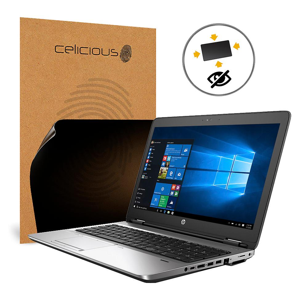 Celicious Privacy Plus 4-Way Anti-Spy Filter Screen Prougeector Film Compatible with HP ProBook 655 G2 (Touch)