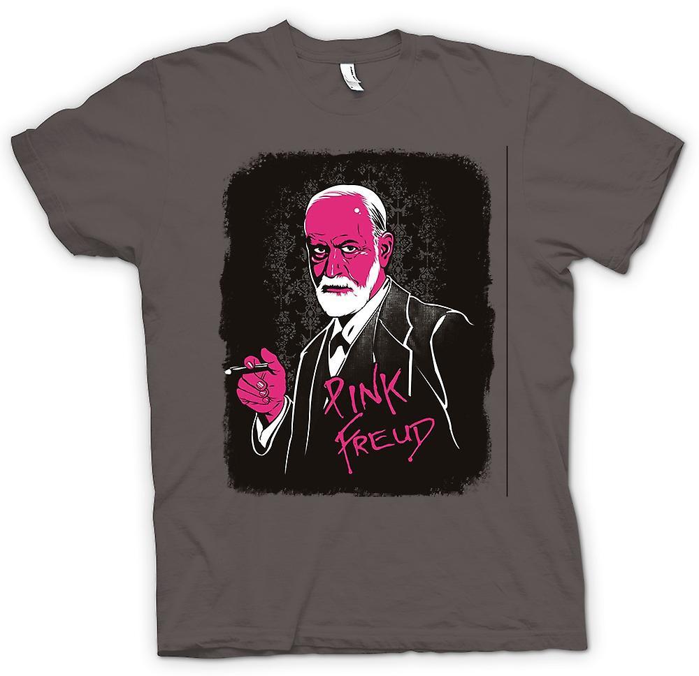 Mens t-shirt - Pink Floyd - Sigmund Freud - divertente