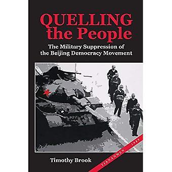 Reprimere il popolo: la repressione militare del movimento di democrazia di Beijing