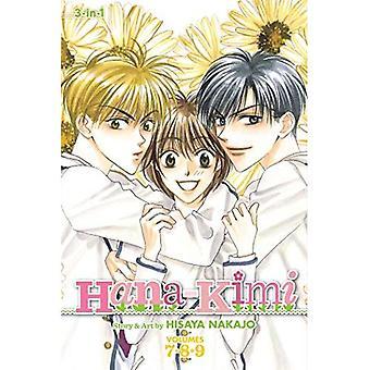 Hana-Kimi, Volumes 7-9