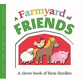 Bild passar en gårdsuppfödda vänner
