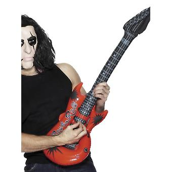 Inflatable Guitar Fancy Dress Accessory