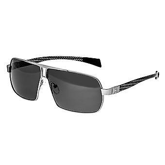 RAS Boogschutter Titanium gepolariseerde zonnebril - zilver/zwart
