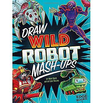 Rita vilda Robot MASH-Ups (ritning MASH-Ups)