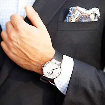 Bering Quartz analoge horloge met siliconen band 15540-400