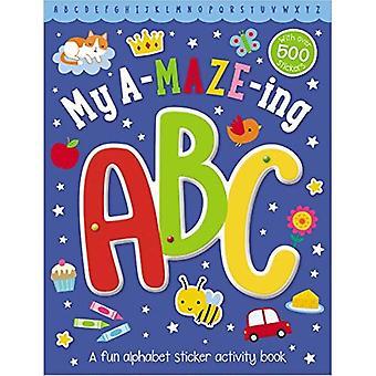 Maze Activity Books My Amazing ABC
