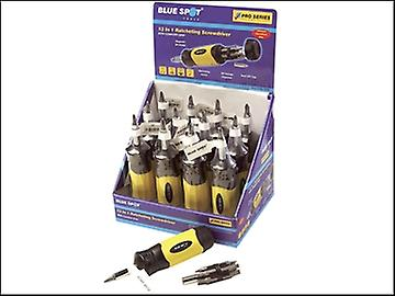 BlueSpot Tools Ratcheting Screwdriver 13 in 1