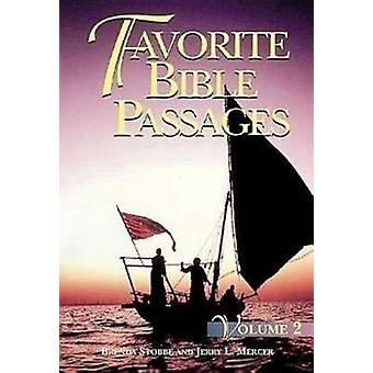 Favorite Bible Passages Volume 2 Student by Stobbe & Brenda