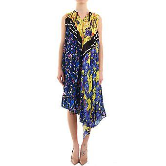 Balenciaga Blue Silk Dress