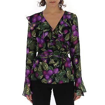 Marc Jacobs Multicolor Silk Blouse