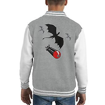 Game Of Thrones Reign Of Fire Kid's Varsity Jacket