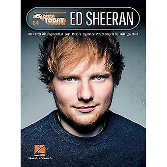 E-Z PLAY TODAY VOLUME 84 ED SHEERAN PIANO BOOK by E-Z PLAY TODAY VOLU