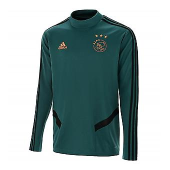2019-2020 Ajax Adidas Training Top (Tech Green)