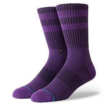 Stance Uncommon Solids Mens Socks ~ Joven purple (size L)
