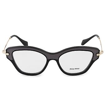Miu Miu MU 07OV VIE1O1 52 Cat Eye Eyeglasses Frames