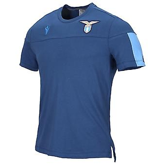 2019-2020 Lazio Official Cotton T-Shirt (Navy)