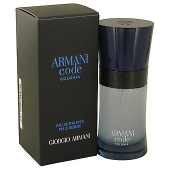 Armani Code Colonia door Giorgio Armani Eau De Parfum Spray 1.7 oz/50 ml (mannen)