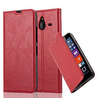 Cadorabo tilfældet for Nokia Lumia 640 XL Case Cover-telefon tilfældet med magnetisk lukning, stativ funktion og kort case rum-sag Cover sag sag sag case sag bog folde stil