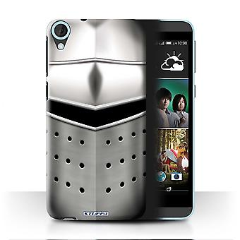 STUFF4 Case/Cover for HTC Desire 820q Dual/Pigface Helmet/Knight Armour
