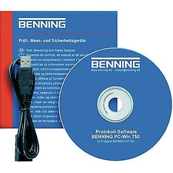 Benning Software Win PC ST 750 SoftwareCompatible con ST 750