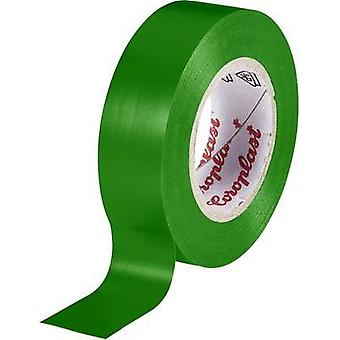 Electrical tape Coroplast Green (L x W) 25 m x 19 mm Acrylic Content: 1 Rolls