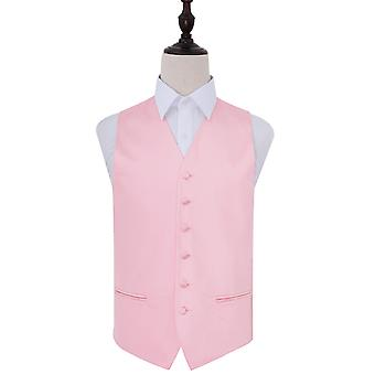Baby Pink pianura sposa in gilet