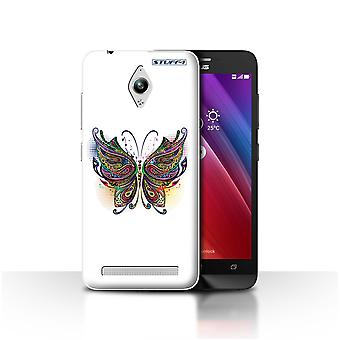 STUFF4 Case/Cover for Asus Zenfone Go ZC500TG/Butterfly/Ornamental Animals