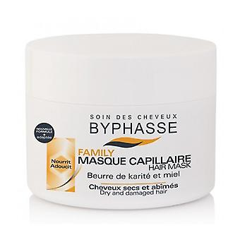 Byphasse Dry Hair Mask Shea Butter and Honey 250 Ml