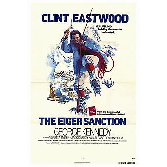 The Eiger Sanction Movie Poster Print (27 x 40)