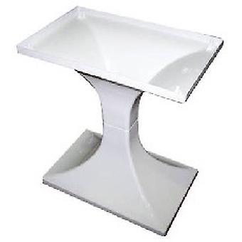FOP stå piedestal hvid 57x37x68cm