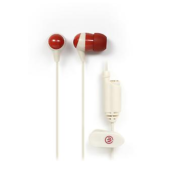 Jack de WICKED AUDIO auriculares Heist blanco en la oreja Extra 3.5 mm