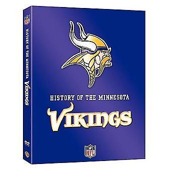 NFL historie af Minnesota Vikings [DVD] USA importerer