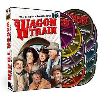Wagon Train: The Complete Fourth Season [DVD] USA import