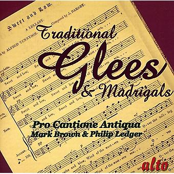 Pro Cantione Antiqua - Traditional Glees & Madrigals [CD] USA import