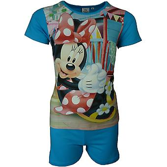Disney Minnie Mouse Mädchen Kurzarm Pyjama Set