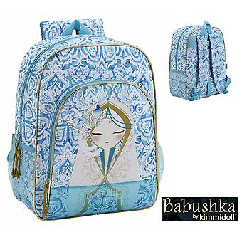 Kimmidoll Babushka Mochila Adaptable 33X42X15 (Toys , School Zone , Backpacks)