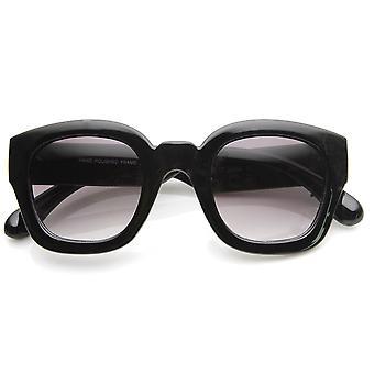 Fet Rim tykk rammen Retro Square ramme solbriller