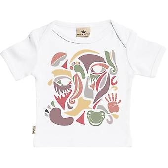Spoilt Rotten Mixed Collage Short Sleeve Baby T-Shirt