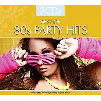 Forskellige kunstner - bedste af 80 'er Party Hits [CD] USA importerer