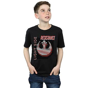 Star Wars garçons les derniers Jedi lumière côté T-Shirt