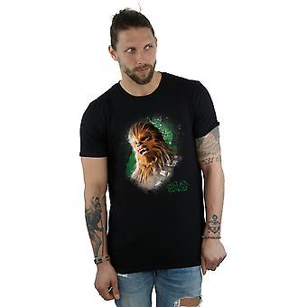 Star Wars Men's The Last Jedi Chewbacca Brushed T-Shirt