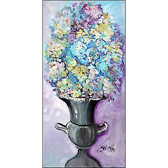 Floral Arrangement Flowers Indoor or Outdoor Runner Mat 58x28