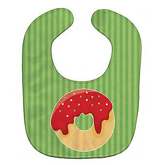 Carolines tesouros BB6818BIB Natal Donut Baby Bib