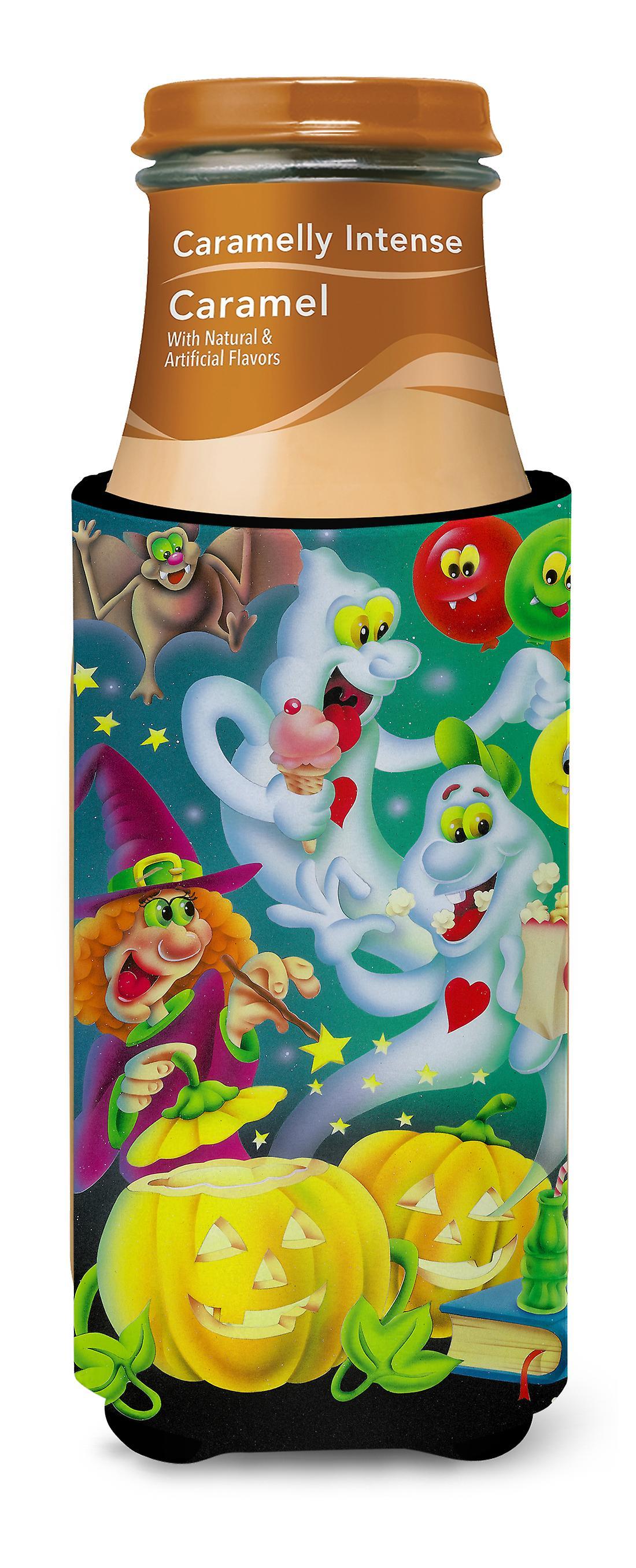 Hexe-Party mit der Geister Halloween Ultra Getränke Isolatoren für ...