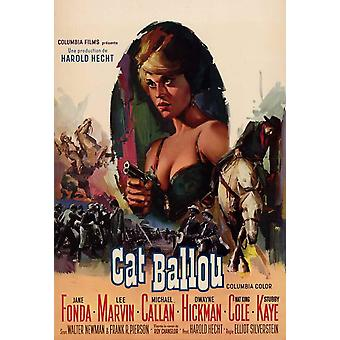 Cat Ballou Movie Poster (11 x 17)