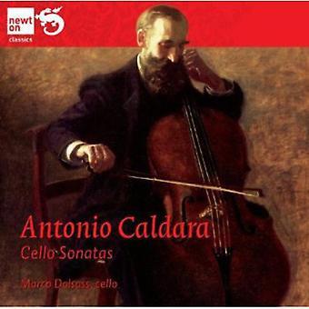 A. Caldara - Caldara: Cello sonater [CD] USA import