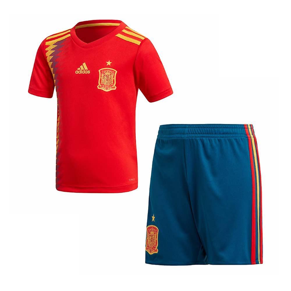 2018-2019 Spain Home Adidas Mini Kit