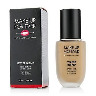Make Up For Ever vand blanding ansigt & krop Foundation - # R370 (Medium Beige) - 50ml/1.69 oz